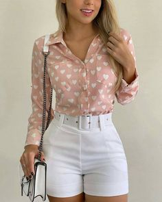 Short Outfits, Short Dresses, Summer Outfits, Casual Outfits, Cute Outfits, Fashion Pants, Look Fashion, Fashion Outfits, Womens Fashion