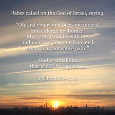 A special prayer by Jabez