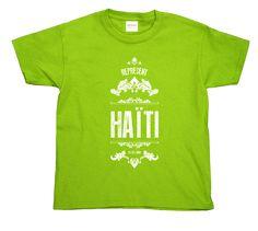 Haïti T-shirt (Enfant)Chandail personnalisé représentant le pays natale de mes parents. Haïti