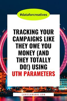 Tracking your campaigns and seeing the ROI metrics for your digital marketing efforts is as simple as implementing UTM parameters. Head over to learn more about what UTM parameters are, how they're as simple as the URLs you're already sharing, and when (and when not!) to use them. // Lanie Lamarre - OMGrowth Online Income, Online Earning, Small Business Marketing, Online Business, Pinterest Advertising, Build Your Brand, Be Your Own Boss, Email List, Blog Tips
