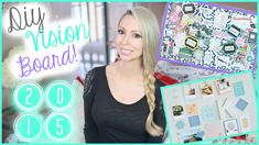 How to make a vision board plus DIY fabric cork board! Vision Board Ideas and Inspiration.