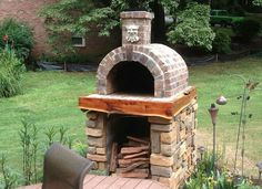 The Shiley Family Wood Fired DIY Brick Pizza Oven in South Carolina - BrickWood Ovens