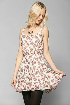 Lucca Couture Chiffon Daisy Dress