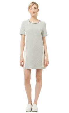 Rebecca Taylor- Chain Detailed Sweatshirt Dress