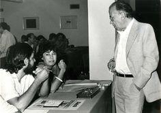 Santiago Carrillo durante la celebración del Comité Central del PCE el 8 de agosto de 1981, con motivo de la elección de un nuevo Secretario General. Foto EFE.