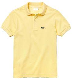 Lacoste Piqué Cotton Polo (Toddler & Little Boy) Lacoste Polo, Polo Tees, Little Boys, Boy Outfits, Polo Ralph Lauren, Nordstrom, Mens Fashion, Yellow, Jeans