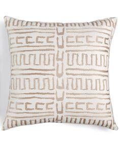 Hallmart Collectibles Purple Geo Accent Pillow