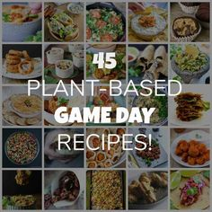 45 plant-based game