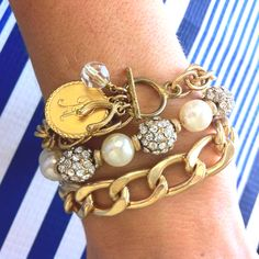 Top three bracelets this week! Nantucket, Lady of Leisure and Chain Links Bracelets.  SwellCaroline.com