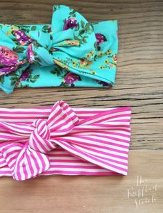 After I made K's Easter dress, I decided she needed a super fun floral headband to go with it. Let me tell you, you need to make some for the little girls in your life. They are so easy to ma…