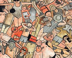 Jean Jullien's new book takes on beach holiday blunders.