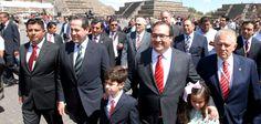 Duarte de Ochoa manifestó el orgullo que representa para Veracruz acudir a este importante sitio arqueológico para realizar el encendido del Fuego Nuevo con que inicia la recta final hacia la celebración de estos Juegos.