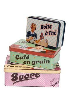 Vintage Cousine - cans