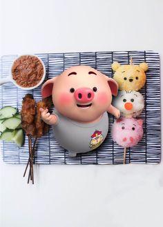 This Little Piggy, Little Pigs, Little Babies, Cute Rabbit Images, Pigs Eating, Pig Wallpaper, Cute Piglets, Pig Drawing, Pig Illustration