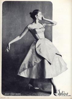 petal dress 1955 | Flickr - Photo Sharing!