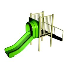 FREESTANDING 3' STRAIGHT SLIDE Winning The Lottery, Outdoor Play, Kids Playing, Playground Slides, Playgrounds, Catalog, Clever, Store, Wall