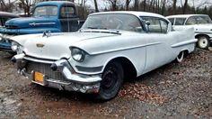 Cheap De Ville: 1957 Cadillac Series 62 #USA #American, #Cadillac, #CoupeDeVille, #Project - https://barnfinds.com/cheap-de-ville-1957-cadillac-series-62/