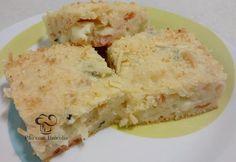 Bolo Salgado de Marguerita. Ddelícia com o suave sabor do manjericão.  Fonte: www.asdeliciasdodudu.com.br/2014/08/bolo-salgado-de-marguerita.html