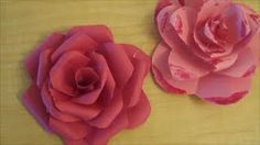 diy paper flowers - YouTube
