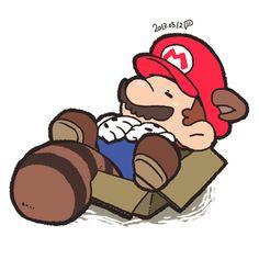 Super Mario Brothers, Super Mario And Luigi, Super Mario Art, Super Mario Nintendo, Super Mario Games, Deadpool Pikachu, Paper Mario, Super Smash Bros, Anime