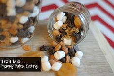 Homemade Trail Mix (Great to use for back to school lunches too)