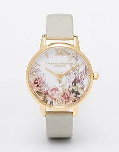 Love this, so beautiful. Olivia Burton Flower Show Midi Dial Watch