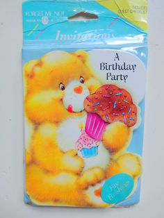 Vintage Care Bears Birthday Party by WylieOwlVintage on Etsy, $5.00