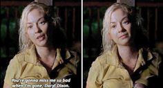 """""""Você vai sentir muito mau quando eu me for, Daryl Dixon"""" - Beth (4x12)"""