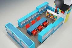 Công ty thiết kế nội thất Đỗ Gia là đơn vị độc quyền thiết kế và thi công cửa hàng đồ chơi Lego tại trung tâm thương mại TIME CITY