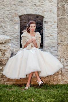 Winter Wedding Short Dresses