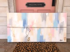 The Beverly- Custom Canvas. The Beverly, Custom Canvas, Paint Ideas, Tote Bag, Painting, Custom Screens, Painting Art, Totes, Paintings