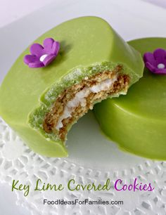 Key Lime Cookies via Desserts For A Crowd, Summer Desserts, Easy Desserts, Delicious Desserts, Dessert Recipes, Key Lime Cookies, Oreo Cookies, Yummy Cookies, Chocolate Oreo