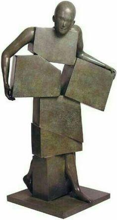 Human Sculpture, Art Sculpture, Abstract Sculpture, Sculpture Garden, Metal Sculptures, Paris Kunst, Paris Art, Contemporary Sculpture, Contemporary Art