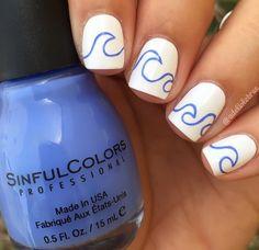 Wave nails