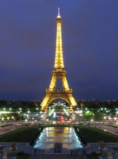Paris, France - who wouldn't fall in love with the City of Lights?