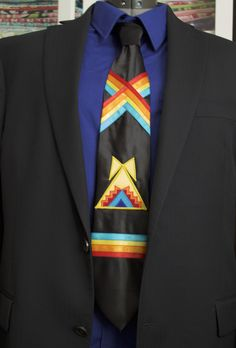 Native Black Teepee Tie by Feral Fawn Native American Clothing, Native American Design, Native Design, Native American Crafts, Native American Fashion, Native Fashion, Sewing Appliques, Applique Patterns, Applique Designs