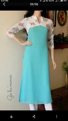 Churidar Pattern, Kurta Patterns, Dress Patterns, Kurti Neck Designs, Salwar Designs, Blouse Designs, Dress Designs, Indian Dresses, Indian Outfits