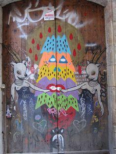 IMG_9281 by Diane Silveria, via Flickr  Barcelona street art.  000
