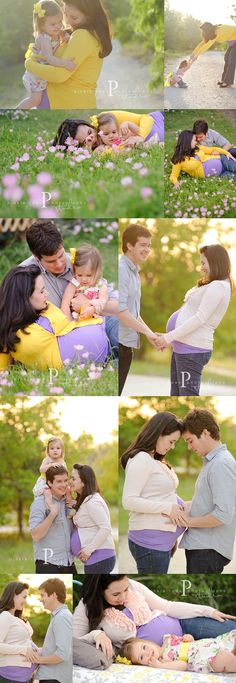 Family/Maternity photography ideas