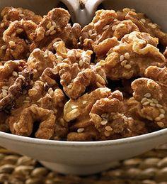 Walnuss-Sesam-Snack