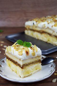 Cold Desserts, Sweet Desserts, No Bake Desserts, Eat Dessert First, Dessert Bars, Puding Cake, Cake Recipes, Dessert Recipes, Dessert Decoration