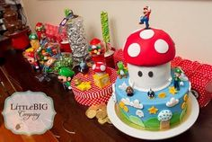 Mario party-ideas. Cake.