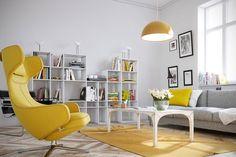 Ideas para decorar nuestra casa en amarillo