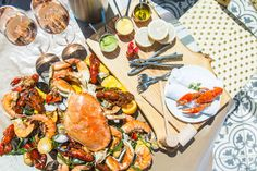 Held over into September Boulevard Kitchen & Oyster Bar Sunday Seafood Boil