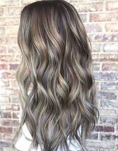 Most Trendy Ash Brown Hair Color Ideas for Long Hairstyles 2018