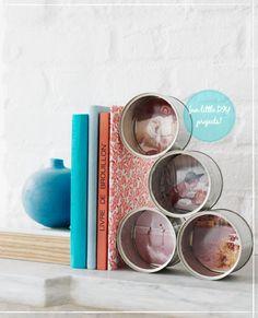 Reciclar e Decorar - O que fazer com latas