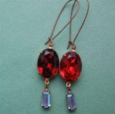 Smoky Topaz and Aqua.  Gorgeous! $12.00.  http://www.etsy.com/listing/125846483/smoky-topaz-and-aqua?#