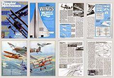 aerosngcanela: Asas - 75 anos de vôo motorizado - 1978