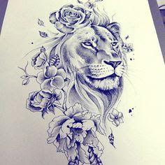 lion tattoo - Pesquisa Google