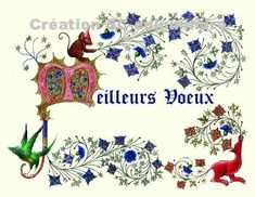 Illuminated Manuscript, Creations, Playing Cards, Clip Art, Collages, Ink, Drawing, Patterns To Draw, Picture With Text
